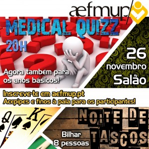 Medical Quizz | Noite de Tascus