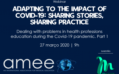 AMEE – Webinar: Adapting to the Impact of COVID-19