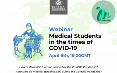 IFMSA – Webinar: Medical Students in the times of CoVID-19